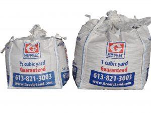 Cubic Yard Bags Ottawa Greely Sand Amp Gravel Inc