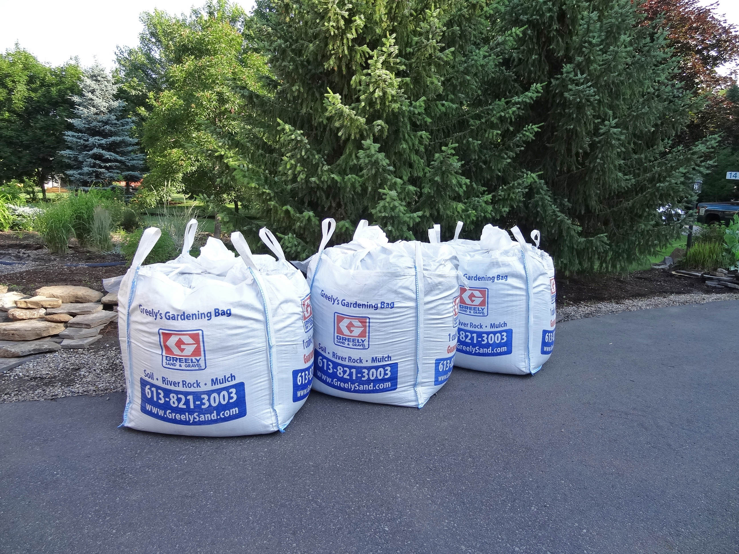Cubic Yard Bag Delivery Ottawa Greely Sand Amp Gravel Inc