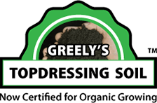 Greely's Topdressing Soil Now Certified for Organic Growing