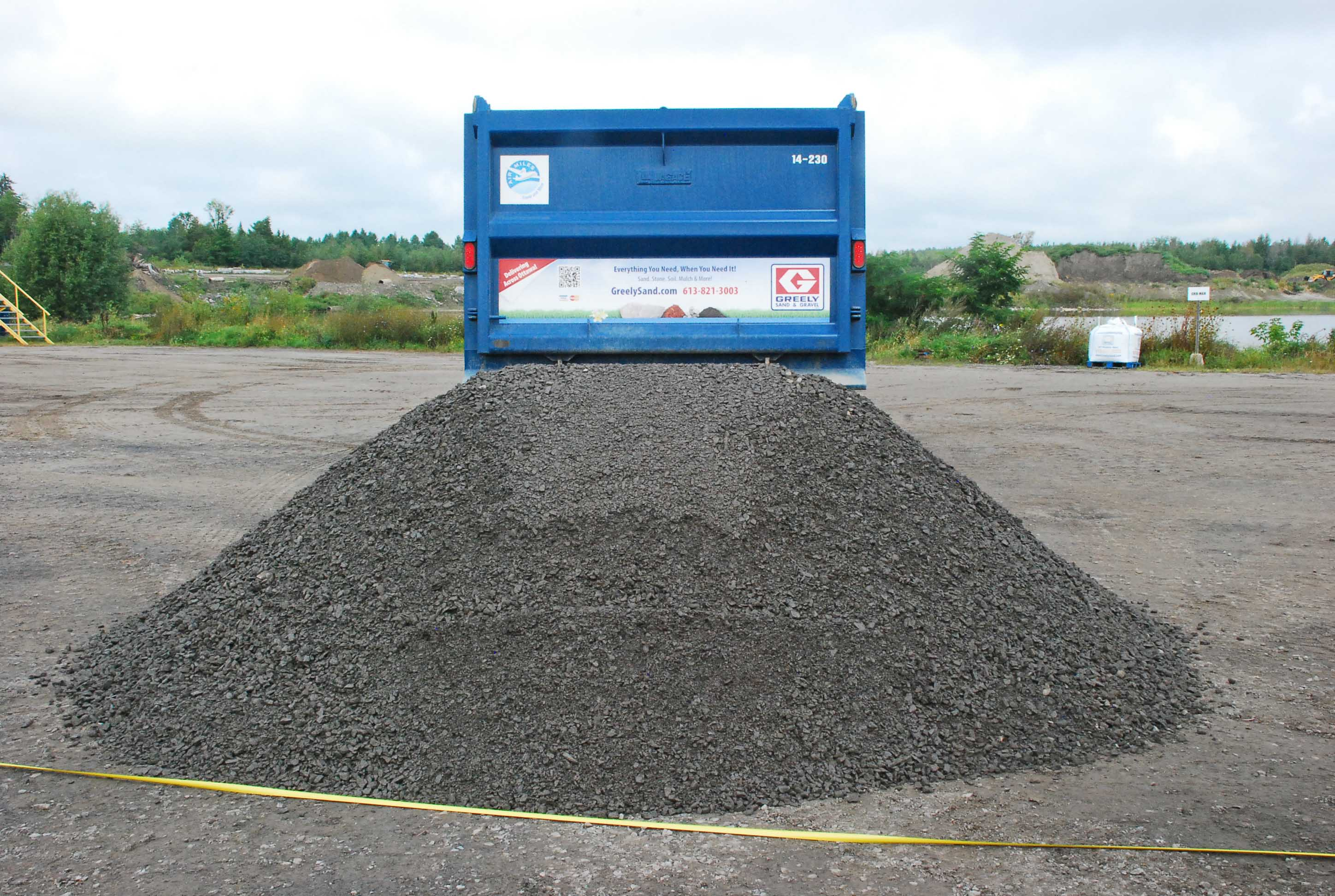 10 Tons Of Dirt : How does it measure up greely sand gravel