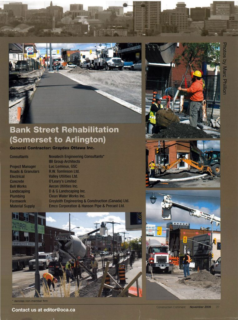 Bank St Rehab Project Flyer