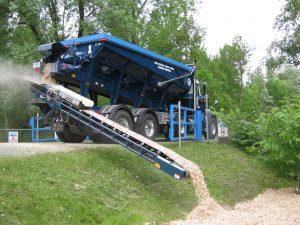 Sand slinger service