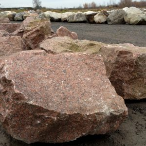 decorative landscaping boulders - granite