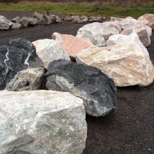 Tatlock mining boulders