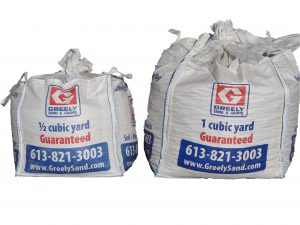 Cubic Yard Bags Ottawa | Greely Sand & Gravel Inc