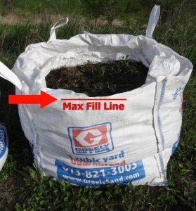 Max fill line