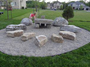Natural Rock Playground