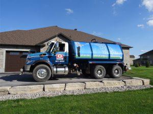 Flusher Truck