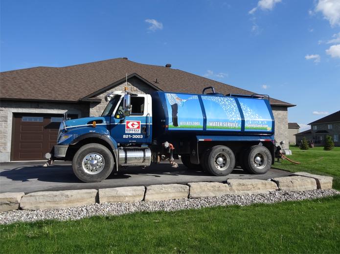 Water Truck Ottawa Water Truck Rental Greely Sand