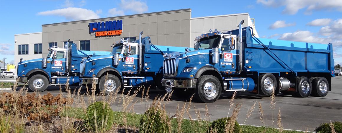 Greely Sand & Gravel truck fleet banner image