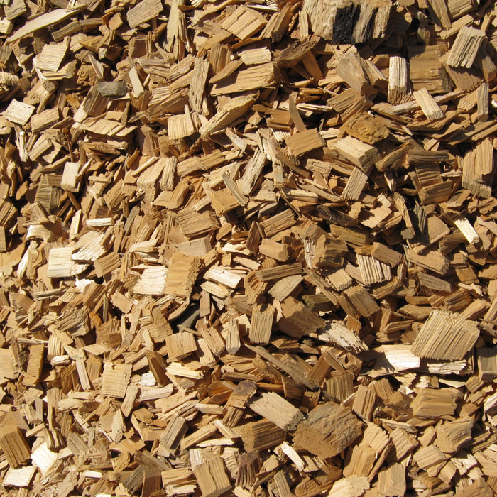 Hardwood Chip Mulch