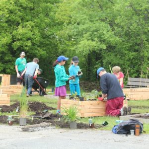 Greely Sand & Gravel Inc. community garden project